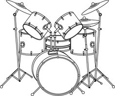 Instruments, Music Drawings, Doodle Lettering, Scroll Saw, Logo Images, Mobile Photography, Body Art Tattoos, Drums, Cool Pictures