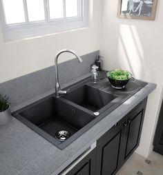 Evier de cuisine - Choisir la configuration de son évier   Faire construire sa maison