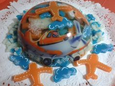 #gelatina #aviones #disney #3D