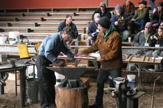 CBA 2016 Spring Conference  Ferndale, Ca Humboldt County Fairgrounds April 28-May 1, 2016 James Austin (forgedaxes.com) *Swedish Carpenter's Axe*