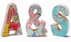Mapas antiguos | DECORA TU ALMA - Blog de decoración, interiorismo, niños, trucos, diseño, arte...