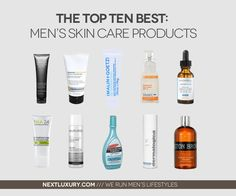 Top Ten Best Men's Skin Care Products For 2013