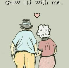 Seeing old couples together melts my heart.