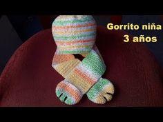 Hermoso gorro bufanda a crochet (ganchillo) tutorial paso a paso - YouTube Fingerless Gloves, Arm Warmers, Crochet Patterns, Bb, Youtube, Caps Hats, Scarves, 3 Year Olds, Cross Stitch Geometric