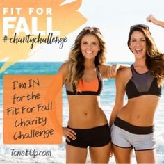 Tone it Up: Fit For Fall Challenge