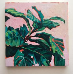art inspo Sari Not Sorry Art von Sari Shryack - Greens Art Inspo, Painting Inspiration, Plant Painting, Plant Art, Lemon Painting, Art And Illustration, Art Floral, Posca Art, Figurative Kunst