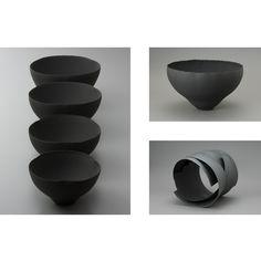 Japanese black ceramics.
