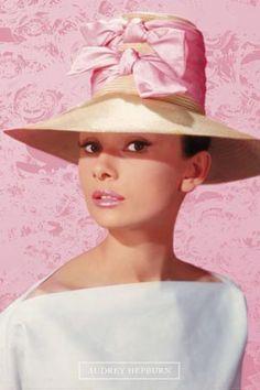 Audrey Hepburn..pretty in pink