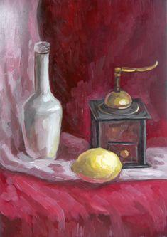 Lemon And Coffee Grinder by Kaitana