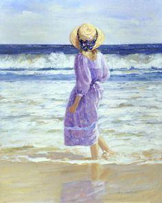 Mujeres Pintoras: La impresionista Sally Swatland   Trianarts