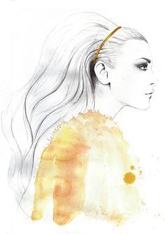 Jessica Stam by Sarah Hankinson