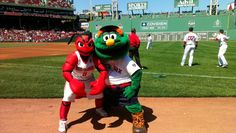 Crusher and I at Maine Day!