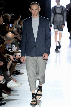 Damir Doma Spring 2012 Menswear Collection on Style.com: Complete Collection