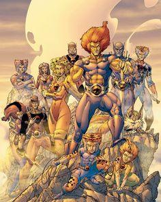 Thundercats: Dog Wars by Brett Booth  Download at nomoremutants-com.tumblr.com  #thundercats #cartoons #cartoonnetwork #liono #80s #mummra #swordofomens #silverhawks http://ift.tt/2qYiiol