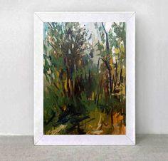 Original Painting  Landscape-Etude-Size-11.8 by ARTGALERYPAINTING