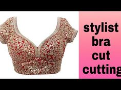 In this video i will teach you how to make princess cut blouse in hindi. Watch this easy step by step video tutorial to do it yourself DIY. BUY ONLINE FROM: . Designer Blouse Patterns, Dress Sewing Patterns, Sewing Ideas, Sewing Tutorials, How To Wear Shirt, Princess Cut Blouse, Blouse Tutorial, Saree Blouse Neck Designs, Sari Blouse