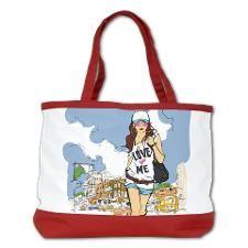 Girl Swag in the City Shoulder Bag