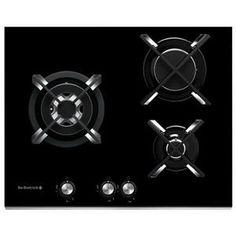 DE DIETRICH - DTG1105X _ Table de cuisson Gaz - 1 foyer triple couronne 3,6 kW - Allumage intégré aux manettes - Sécurité gaz par thermocouple - Grilles mono-foyer fonte.