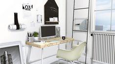 IKEA Lillasen Desk & Clutter by MXIMS - Teh Sims