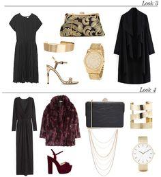 Looks de fiesta: El vestido negro