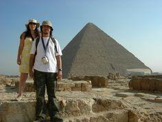 Piramides on fire