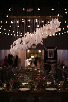 Hanging Feather decor