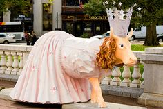 Image detail for -Glenda from the Wizard of Oz - Cows on Parade Cow Parade, Artist And Craftsman, Painted Pony, My Kind Of Town, Cow Art, Cute Cows, Wizard Of Oz, Whimsical Art, Great Movies