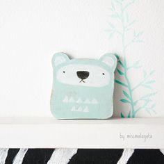 Mint ozzy bear - by missmalagata