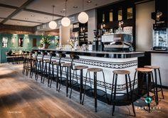 Interior Design: Angelika Barzilay / Barzileye Concept & Design #interior design #brasserie #french #bistro #restaurant #frenchblue #design #hospitalityproject #thonet #lunchroom #rotterdam #silestone #chaisenicolle #newvenue #porcelanosa #mosaics #1930