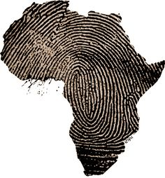 African fingerprint-this would be cool to have after a mission trip and the country that has touched your heart