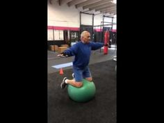 Great exercise to improve balance and core strength! #getit #daveglasertraining