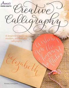 Calligraphy is a lettering art that anyone can learn with some practice and patience. This book will teach you everything you need to know to get started in modern calligraphy. Youll learn about the s