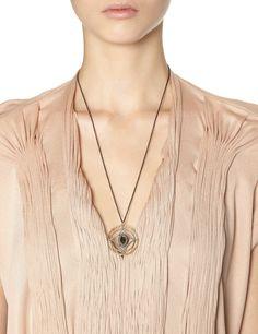 Gold Hematite Enhancer Necklace | Armenta | Avenue32<32675<3<3