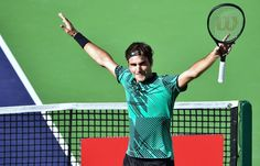 Roger Federer dompte Rafael Nadal - Masters 1000 de Miami - 6/3-6/4 -2 Avril 2017 - Photo AFP