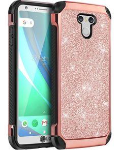 LG G6 Case Hybrid Slim Luxury Glitter Sparkly Bling Shockproof Cover Rose Gold | Cell Phones & Accessories, Cell Phone Accessories, Cases, Covers & Skins | eBay!