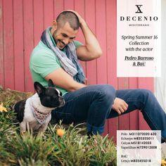 Introducing New Collection Spring Summer 16 with the Actor Pedro Barroso Sinta as novas cores e sensações mediterrânicas da nova coleção. Fotografia de Tomás Monteiro www.decenio.com