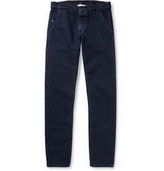 Raleigh DenimGraham Slim-Fit Washed Denim Jeans.  315