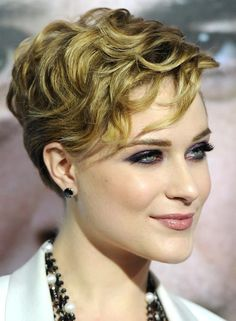 Layered, Wavy Hairstyle - Cute Short Haircut for Women