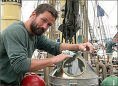 Actor, Billy Campbell, participates in The Tall Ships' Races every year. Brian Downey, Billy Campbell, Shawn Doyle, Tall Ships Race, Beautiful Men, Beautiful People, Magazine Images, Good Looking Men, Film Festival