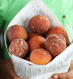 Koeksisters - light, fluffy fried dough from South Africa
