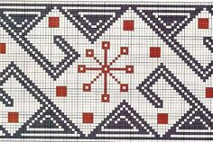 Filet Crochet, Crochet Stitches, Knit Crochet, Cross Stitch Embroidery, Embroidery Patterns, Tapestry Crochet Patterns, Tapestry Bag, Ikat, Crochet Projects