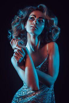 Glitter, Glitter makeup, Shine, Splashes, Girl portrait studio AntiPhoto   Антонова Инна фотограф