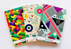 Notebook designs by Pocket Shop AB