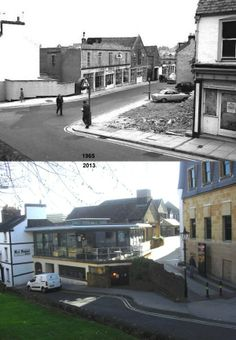 Vicarage Street Then & Now.