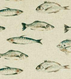 Fish Fabric by Clarke & Clarke | Jane Clayton