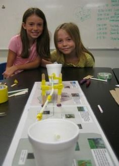 create a pipeline to transport resources w/o hurting the environment-- girlstart