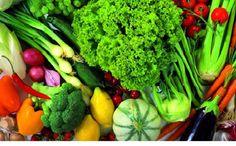 Verduras e Legumes para o cardápio da Dieta Dukan