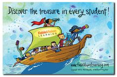 """I designed this poster to launch next school year's theme - to dig deep and find the talents and gifts in each child, their families, educators... """"Discover the Treasure Poster"""""""