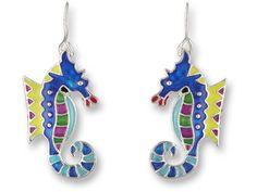 Calypso Seahorse Earrings http://www.wildbirdjewelry.com/page178.html