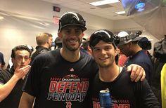 JD Martinez and Andrew Benintendi! Name a better pic i dare ya Andrew Benintendi, Red Sox Baseball, Getting Divorced, Boston Red Sox, Boys Who, Biceps, Future Husband, All Star, Sexy Men